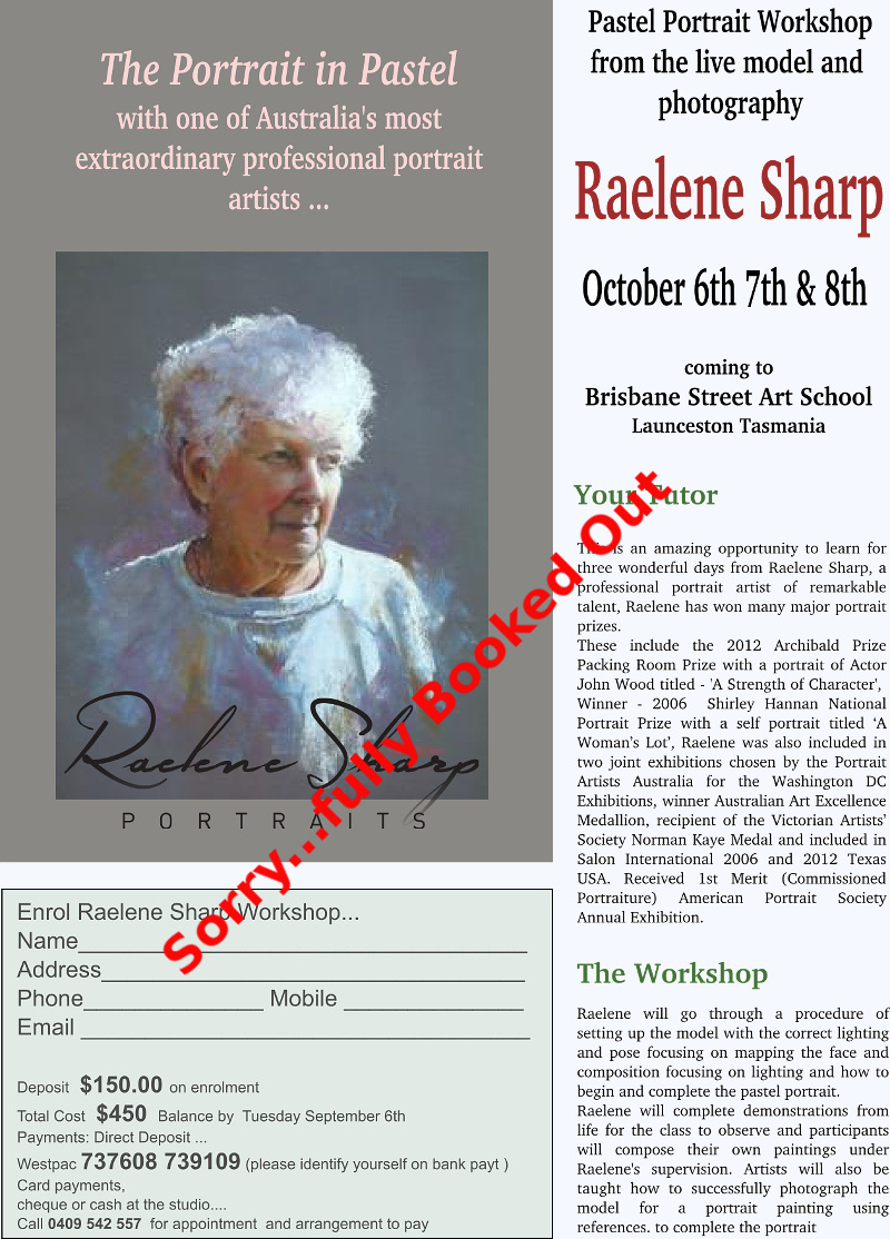 Raelene Sharp Leoni Duff workshop 2016